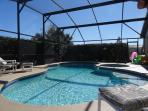 Loads of deck space and pool accessible from all sides
