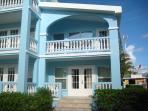 Condo A4 porch downstairs & veranda upstairs