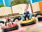Mini go kart's on site, great fun (even for the adults ;)) great value too.