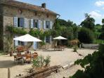 Beautiful and large Masterfarmhouse with 16 beds, 7 rooms and 5 bedrooms. Big playroom on sec. floor