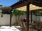 Covered Al Fresco Dining area poolside