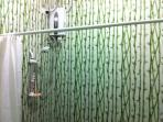 Bathroom with cold & hot water shower