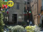 Montone, the picturesque  main square