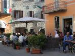 The main square - pure Italian village life