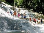 Adventerous?  Then go ahead and climb the world reknown Dunns River Falls, you will be glad you did.