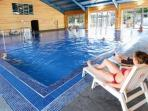 AMAZING FACILITIES,   INDOOR SWIMMING POOL,   GYM,    SPA,   HUGE CHILDRENS PLAY AREA,  BAR AND REST