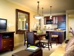 Typical kitchen in one bedroom