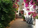 Pretty street in Kalkan's charming Old Town