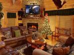 Living Room - Xmas Decor