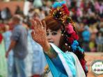 Miss roses 2012 en tenue traditionnelle