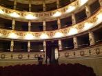 Montegiorgio theatre........up the road