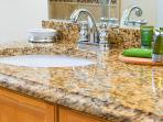 Granite counter tops in all bathrooms & kitchen.