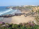 Lusty Glaze Beach - 5 minutes walk away