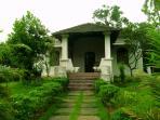 Villa on a hillock