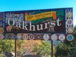 Oakhurst Sign