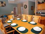 Grand dining area
