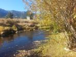 Mammoth Creek w/fishing on property