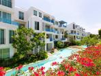 Condo resort complex contains 5 swimming pools and Jacuzzy for your relaxing holidays