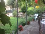 Private and sunny garden