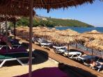Turquoise Resort shares a private beach in secluded cove - perfect to take a dip and relax
