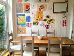 Kitchen Table - seats 8