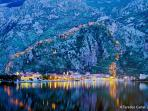 Kotor in the night