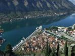 Mountain view on Kotor
