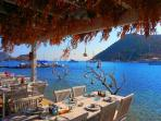 Fishrestaurant by the sea in Gumusluk