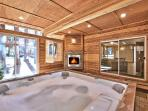 Enclosed Hot Tub Room