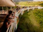 See the sights on the Sugar Cane Train tour. St. KItts