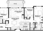 Emerald Lodge Floor Plan - 5102