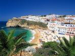 Easy walking distance to charming Carvoeiro