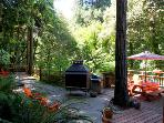 Big Bertha's, Enjoy Peace and Tranquility, Guerneville, CA