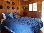 Fallen Tree Ranch, Pool House Bungalow, Queen Bed