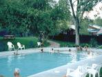 Walk to Trimble Hot Springs Spa with Olympic Pool & enjoy Guest Rates