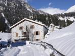 Frontsicht von Haus Beni Winter