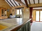 The Haybarn - Light and spacious with the original wooden beams