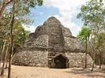 Coba ruins 2 hours away