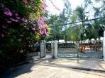 our complex beach gate entrance