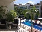 Playa del Carmen vacation rentals - Balcony - PH Laguna