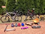 Bikes to borrow. No excuses. Enjoy and get fit!