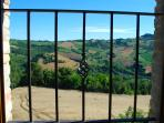 The View Over the Valley From An Upstairs Window