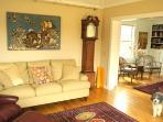 Sunroom, looking into Living Room