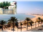 Vilafortuny plage entre Cambrils et Salou