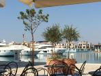 The new Limassol Marina - about 25 minutes drive