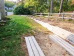 Outdoor activity - Horse shoe pit just to the right of the house for your enjoyment! - 25 Charles Road South Harwich...