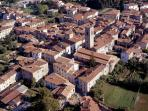 Local town of Pieve Fosciana