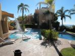 Large Tropical Pool with Sea Views