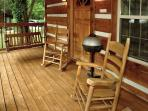 DREAM WEAVER #1527- Outside Deck & Charcoal Grill