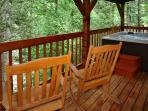 Moonshine Madness #1611- Hot Tub on the Outside Deck